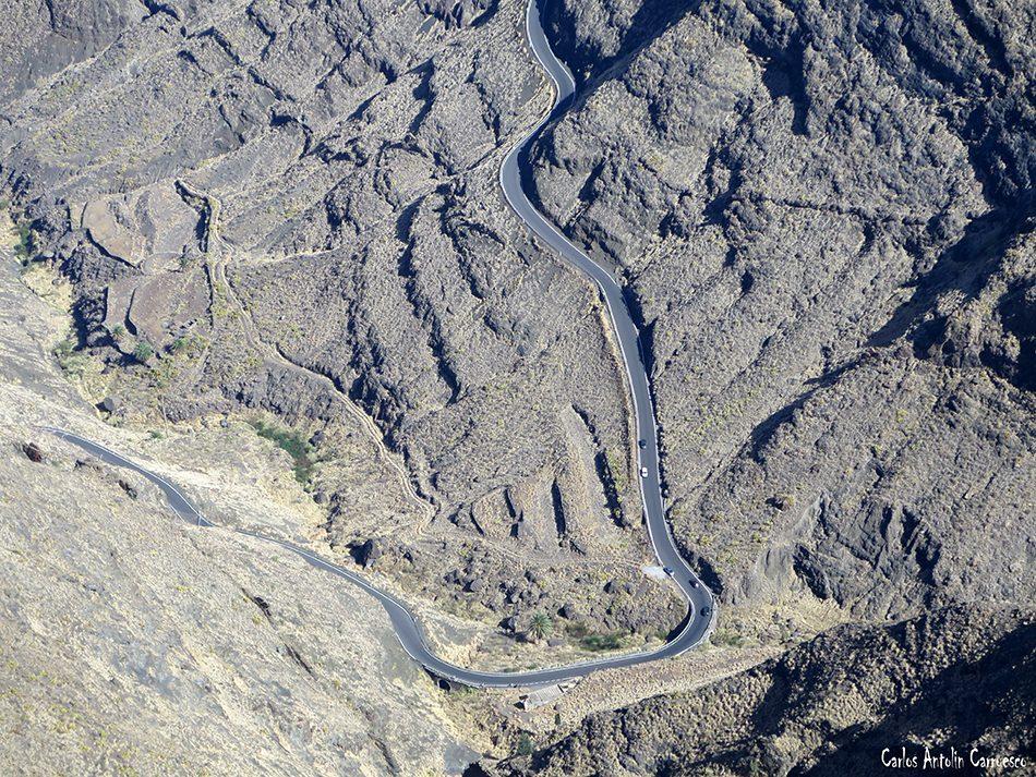 Carretera GC200 - Faneque - Gran Canaria