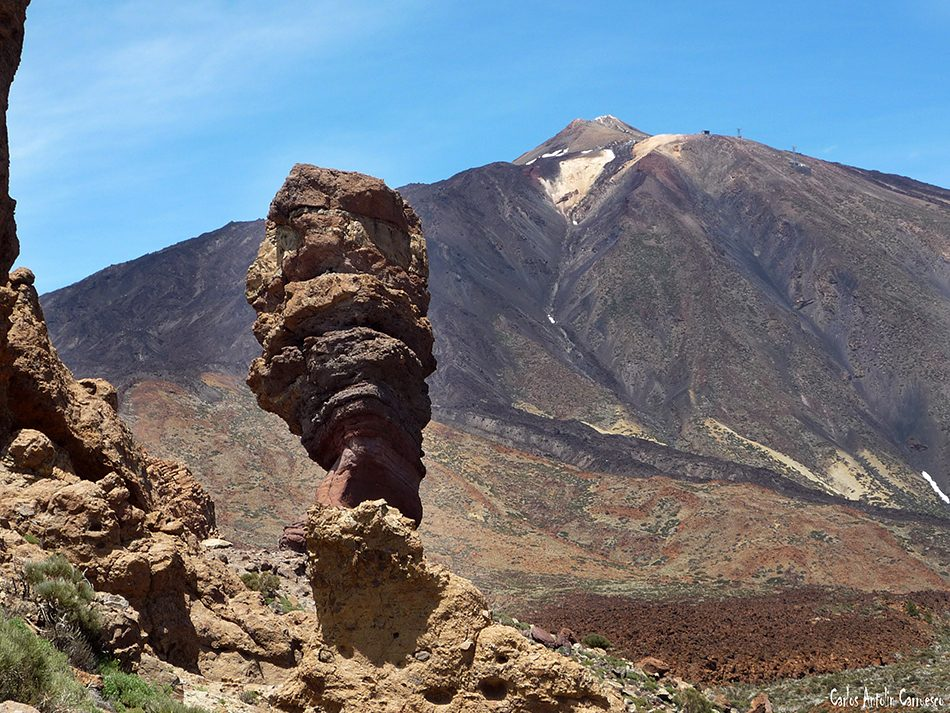 Parque Nacional del Teide - Tenerife - Roque Cinchado