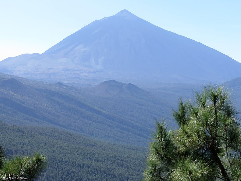 Mirador de La Crucita - Valle de Güimar - Tenerife - teide