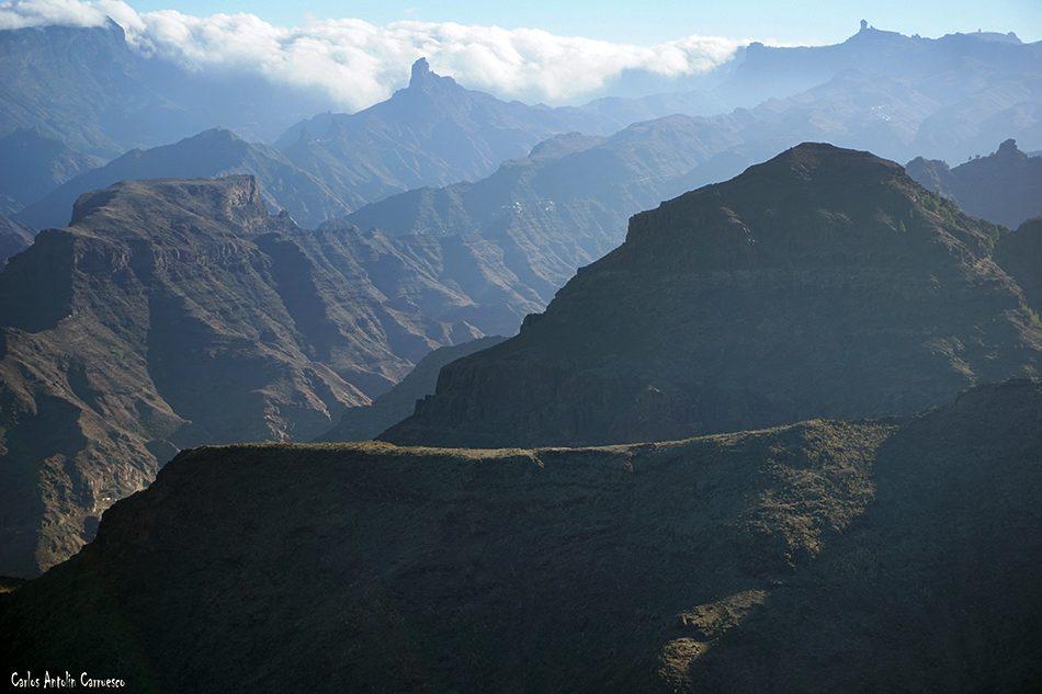 Roques de Bentayga y El Nublo - El Viso - Gran Canaria