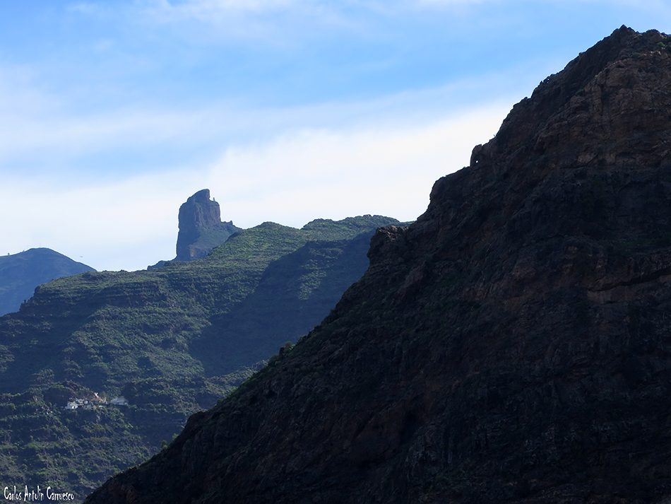 Barranco de Tejeda - Gran Canaria - roque palmés