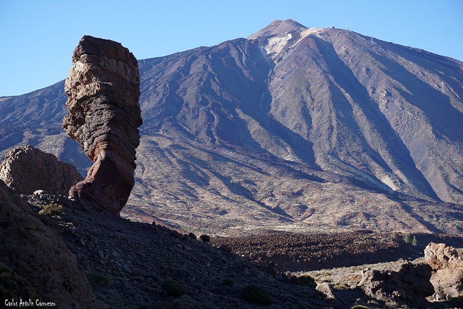 Roque Cinchado - Parque Nacional del Teide - Tenerife