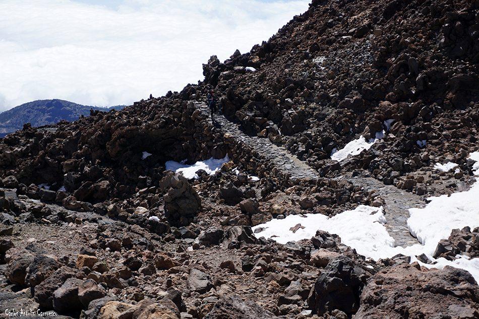 Sendero número 12 - Pico Viejo - Teide