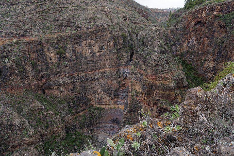 Ifonche - Barranco del Rey - Tenerife - rey superior