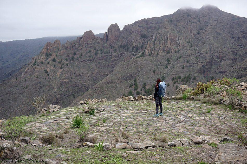 Roque del Conde - Degollada de Los Frailitos - Tenerife