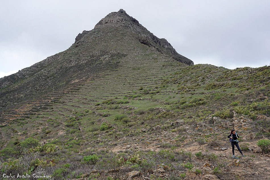 Roque del Conde - Tenerife - camino de suarez - gr131