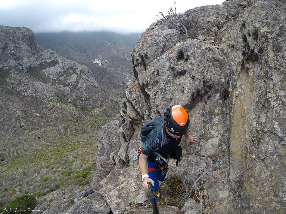 Roque de Las Ánimas - Vía Eva - Tenerife