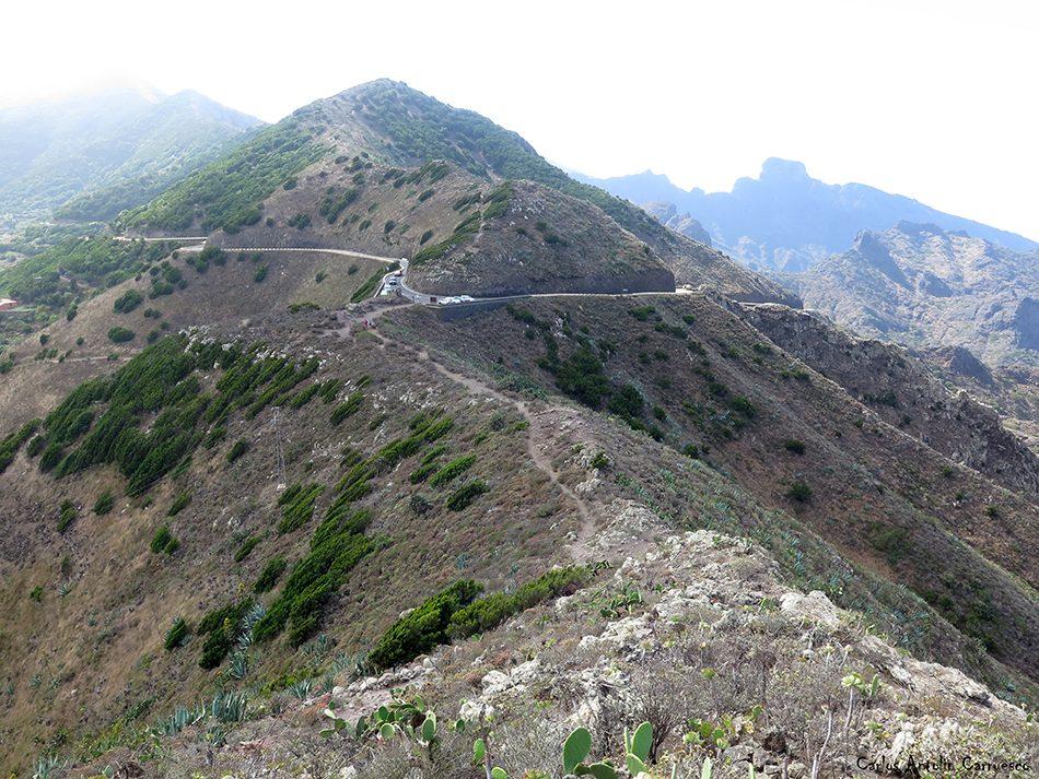 El Palmar - Teno - Los Gigantes - Mirador de La Tabaiba - Carretera de Masca