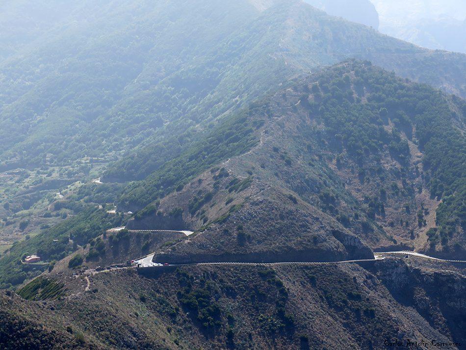 Cumbres de Baracán - El Palmar - Tenerife - mirador de tabaiba