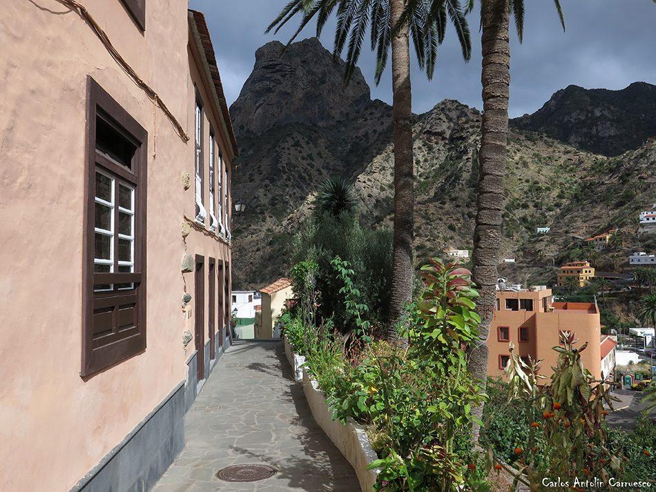 Vallehermoso - La Gomera - roque cano