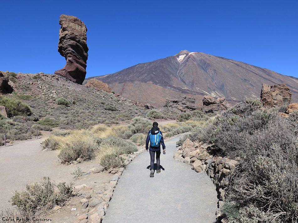 Mirador de La Ruleta - Roques de García - Tenerife - Parque Nacional del Teide - roque cinchado