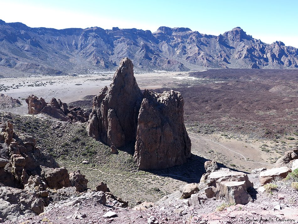 Mirador de La Ruleta - Roques de García - Tenerife - la catedral - Parque Nacional del Teide