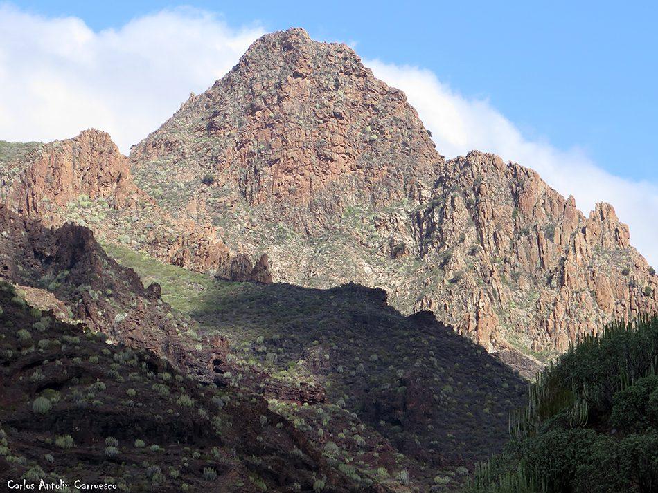 Los Gigantes - Seco - Tenerife - risco blanco