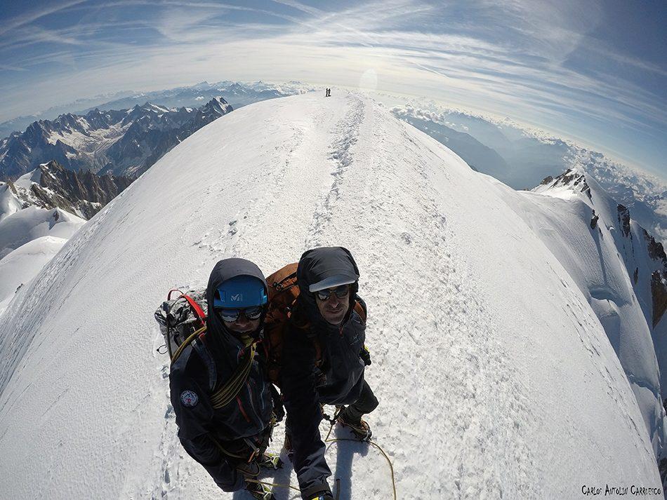 Montblanc (4.808 metros de altitud)
