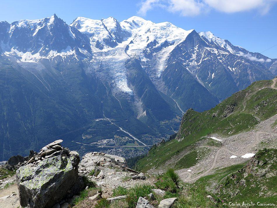 Chamonix - Le Brévent - Montblanc