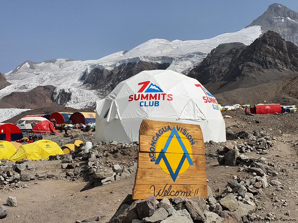 Campo Base - Plaza de Mulas - Aconcagua
