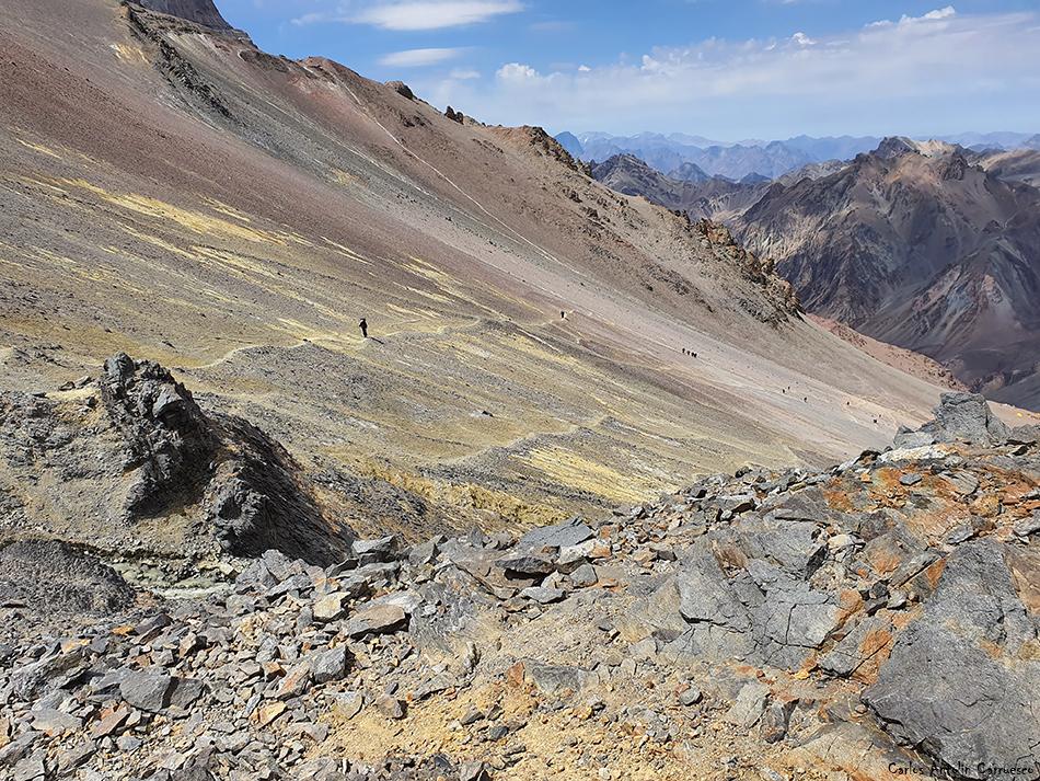 Canadá (Campo 1) - Nido de Cóndores (Campo 2) - Aconcagua
