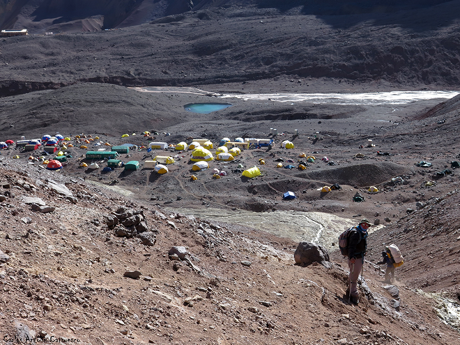 Nido de Cóndores - Plaza de Mulas - Aconcagua