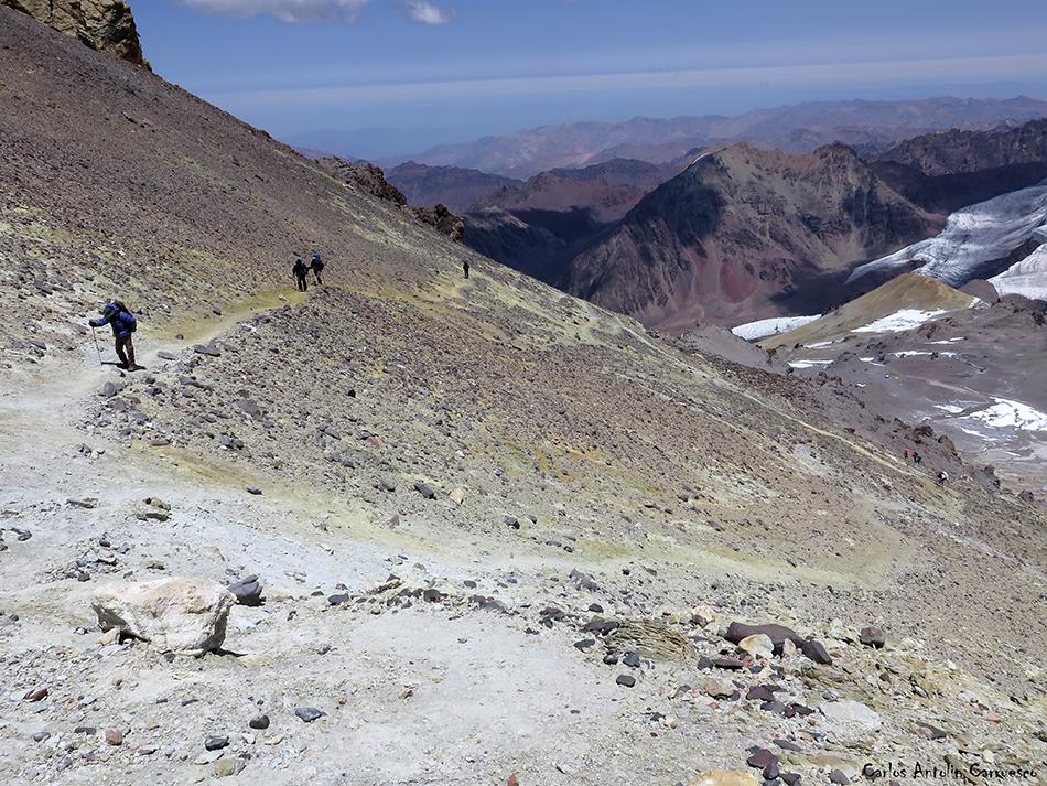 Nido de Cóndores (Campo 2) - Cólera (Campo 3) - Aconcagua