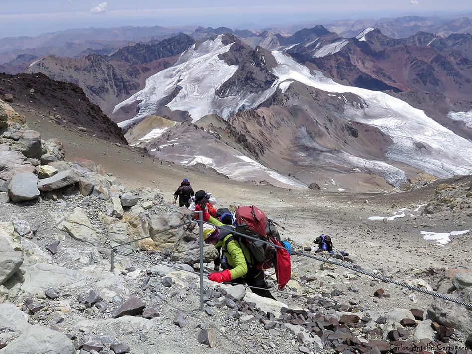 Cólera (6.000 metros de altitud) - Campo 3 - Aconcagua