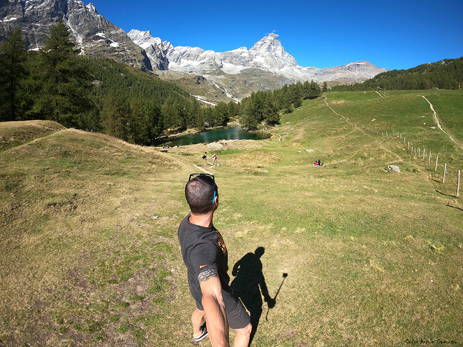 Valtournenche - Valle de Aosta - Italia - lago blu