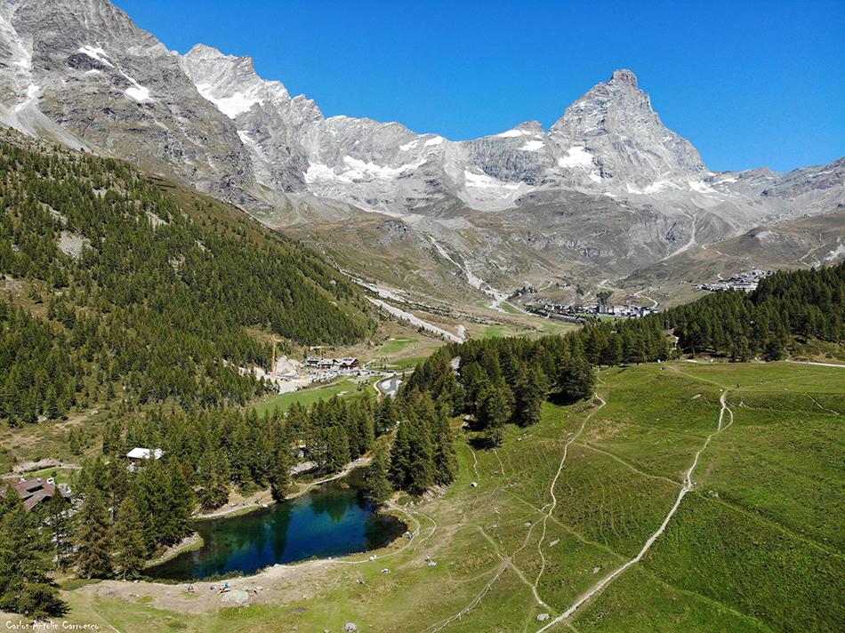 Lago Blu - Valtournenche - Cervino