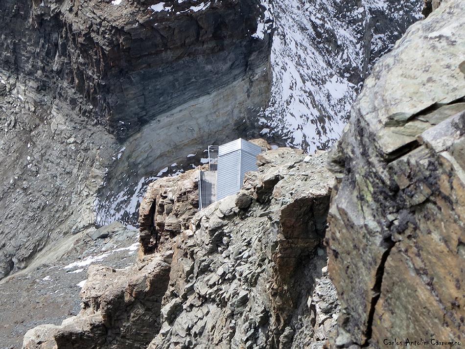Arista Lion - Cervino - Alpes - refugio Carrel