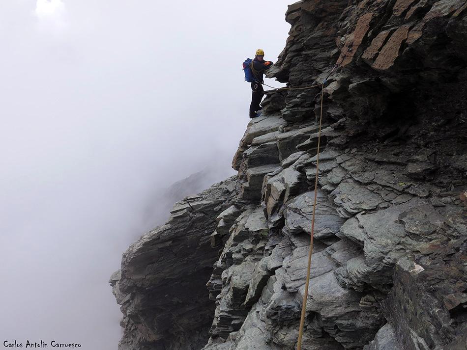 Arista Lion - Cervino - Alpes
