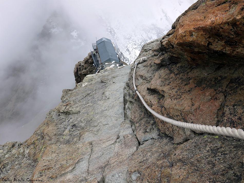 Arista Lion - Cervino - Alpes - regugio Carrel