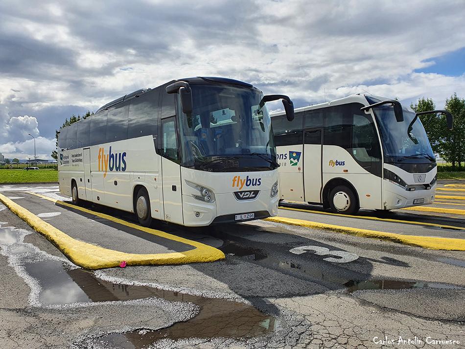 Flybus - Reykjavik - Islandia