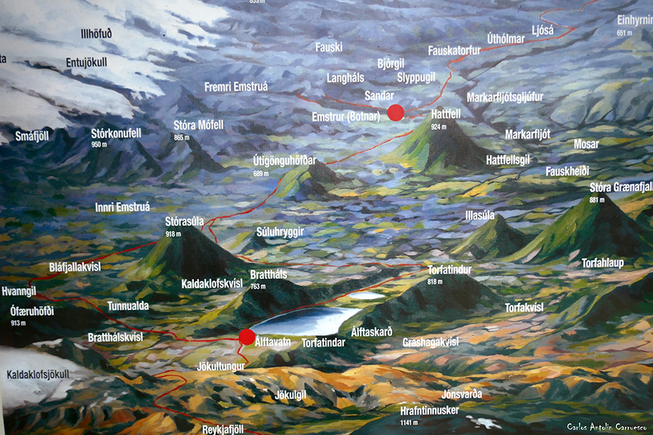 Álftavatn - Emstrur (Botnar) - Islandia